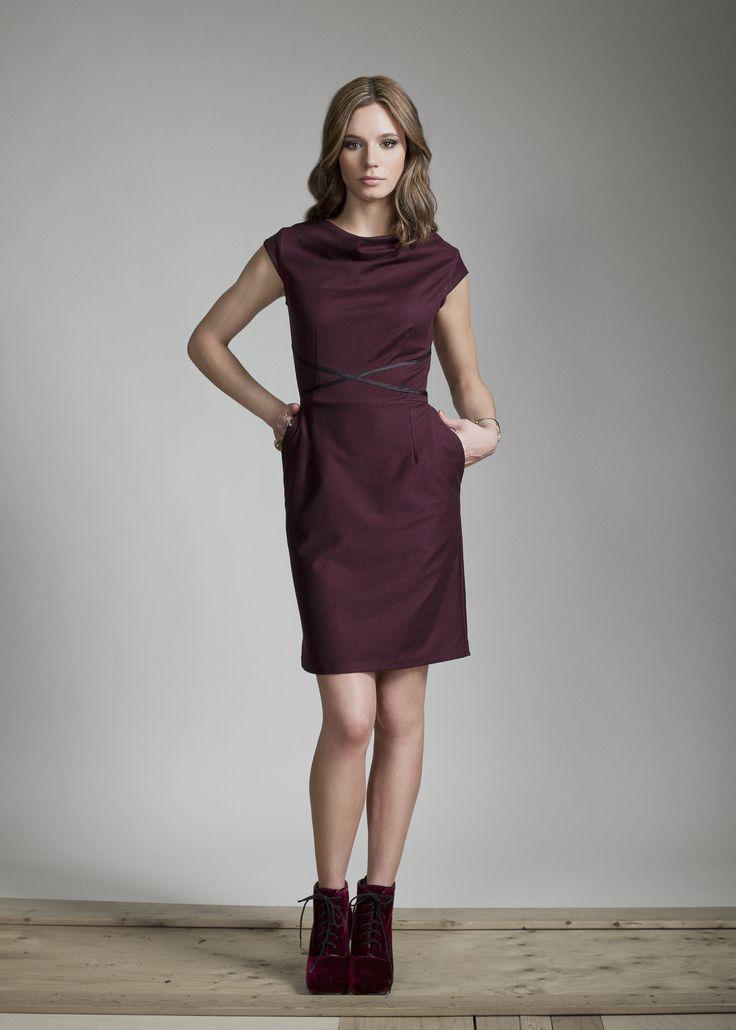 AURORA dress from Jennifer Glasgow Designs.