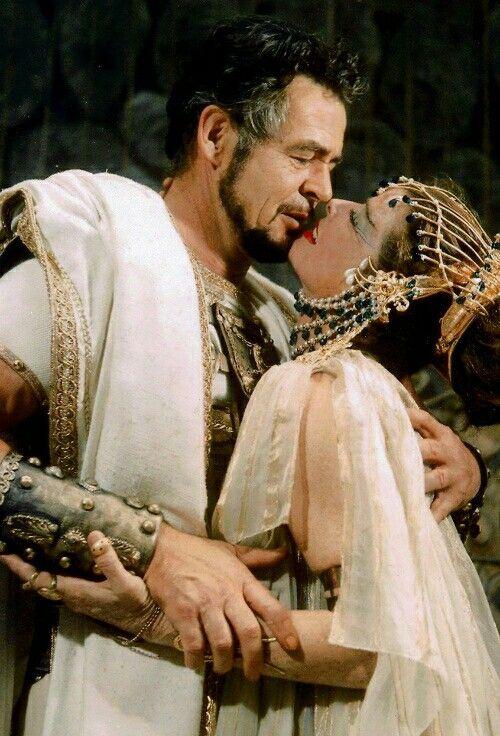 Robert Ryan and Katharine Hepburn, Antony and Cleopatra