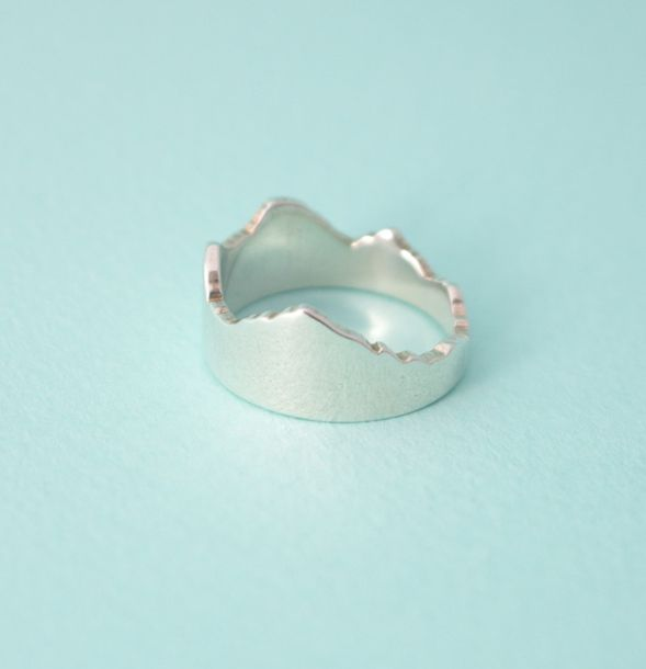 Custom jewelry made from geography! – Cliffs&Coasts