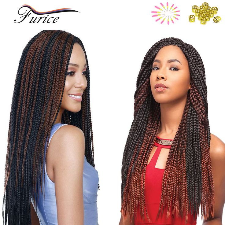 Ombre Crochet 3X Box Braid Hair Curly Weave Crotchet Braid Hair Extension 18 Inch 24 Inch Synthetic Braiding Hair Crochet Braids