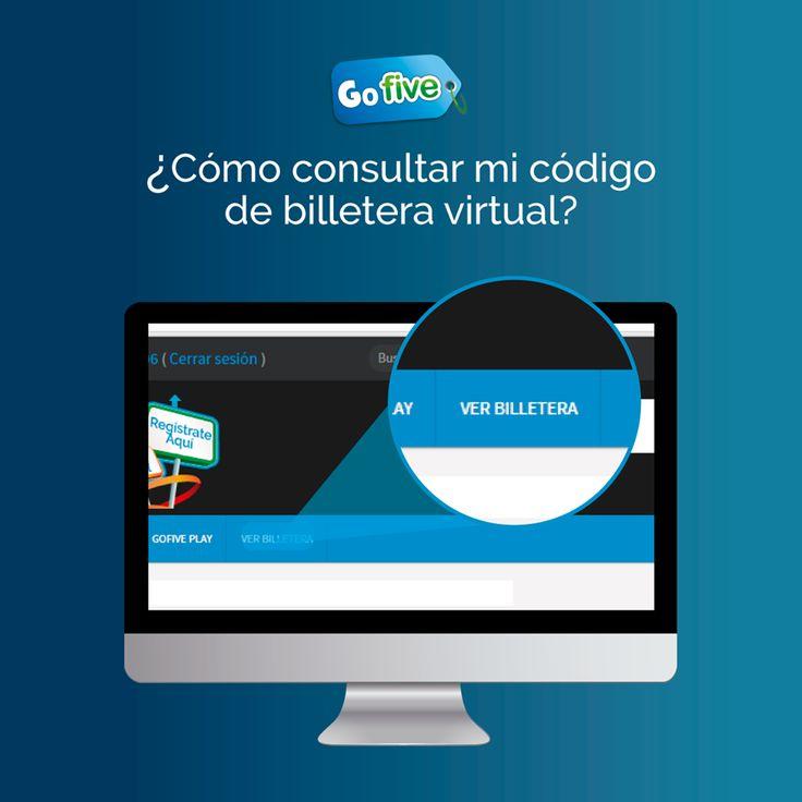 Codigo de Billetera Virtual- Go Five , https://www.facebook.com/Gofive-Team-Colombia-584469295024808/timeline/
