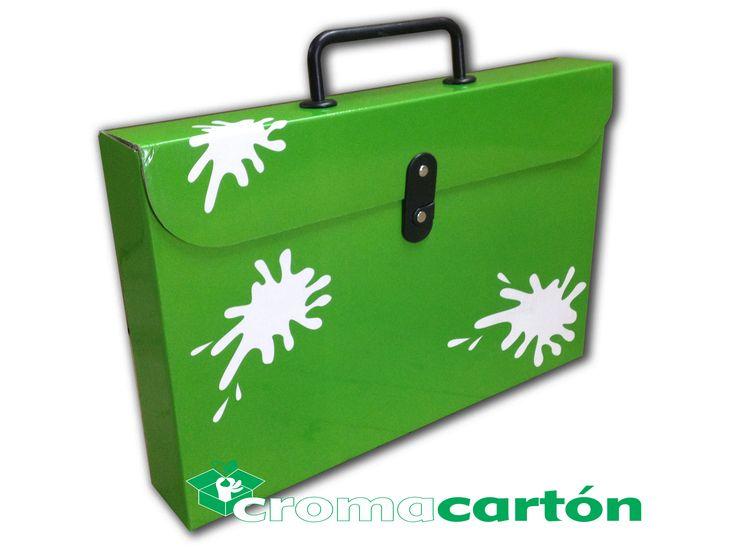 Verde Croma cartón