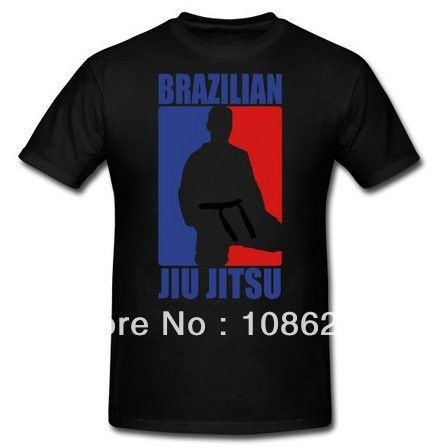 Men's Sporty Brazilian Jiu Jitsu T-Shirt