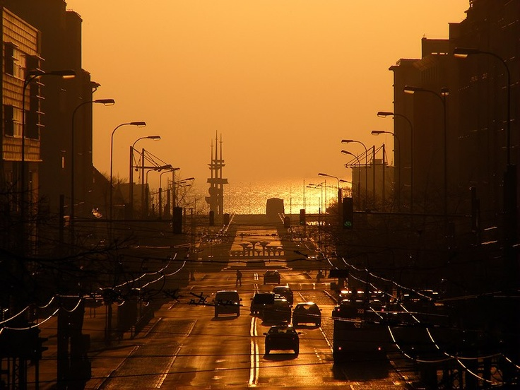 sunrise in #Gdynia