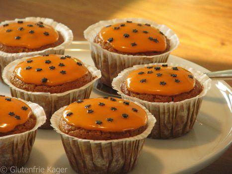 Lækre gluten- og mælkefrie græskar muffins