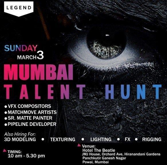 Latest Vfx Jobs At Legend Pune India Hiring At Hyderabad And Mumbai Legend Job Pune