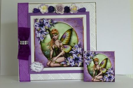 Lily Butterfly Fae on Craftsuprint - View Now!