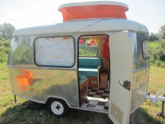 Eriba Vintage Caravan With Retro Interior
