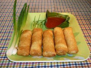 iNDONESIA : Semarang authentic food - Lumpia Semarang (Spring roll)
