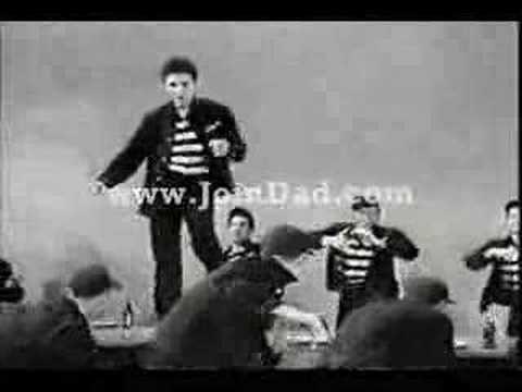 Jailhouse Rock (Music Video) by Elvis Presley....♥