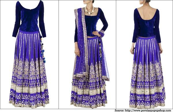 Designer Anita Dongre Lehengas for Indian Brides | Bridal Lehengas