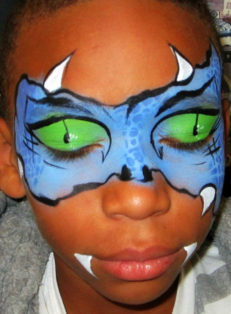 fasching make up kinder drachen schminken augen  #fasching #carnival