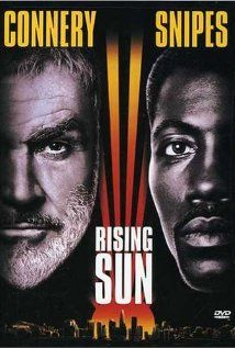 1993 Rising Sun; Sean Connery and Wesley Snipes, detectives  solve the case; Play it Again!