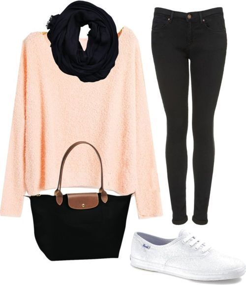 Coral Cutie   Awesome Fall Outfits for Teen Girls for School
