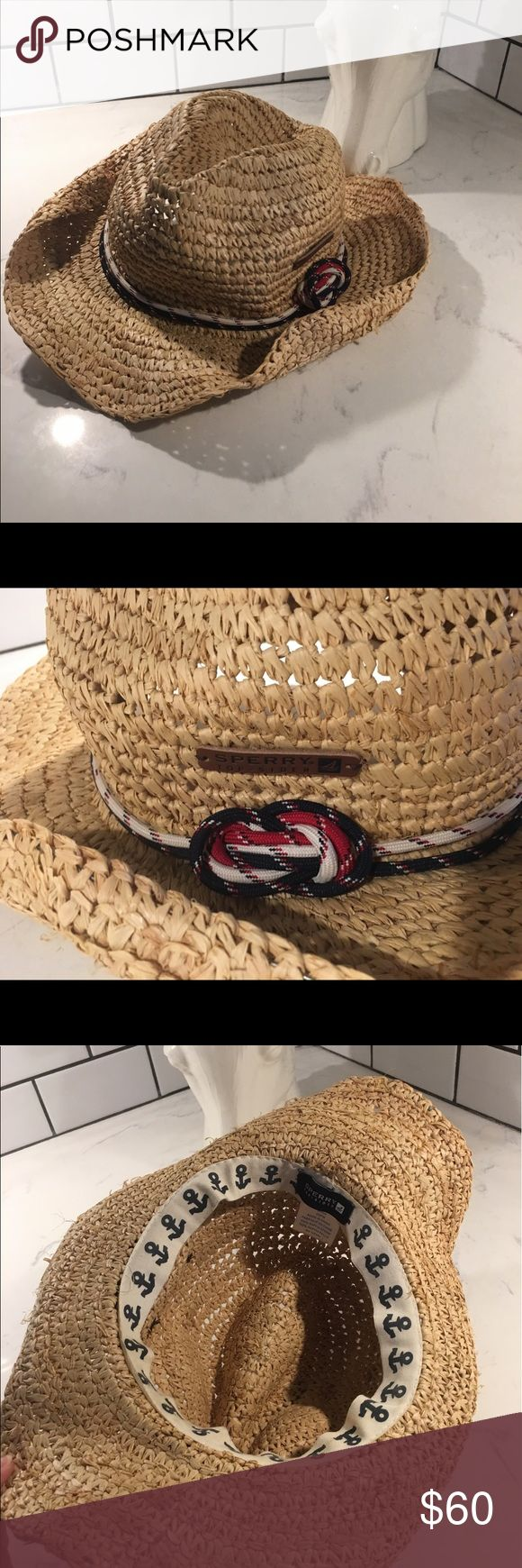 Sperry wicker straw Knot cowboy hat beach Nautical ✨(❁´◡`❁) ωḙℓḉ✺Պḙ (❁´◡`❁)✨      🦋Description:      •Cute Nautical (red, white, blue) rope detail   •Straw    •Cute, slouchy beachy style    ✨      🦋Brand: Sperry       🦋Size: N/A (women's)      🦋Condition: Excellent preowned shape. No holes or stains. Worn once.       (please refer to all photos Don't hesitate to ask ANY and ALL question before Bidding/Buying)      Ask about combined shipping and discounts! Sperry Top-Sider Accessories…