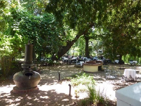 De Volkskombuis Restaurant in Stellenbosch South Africa
