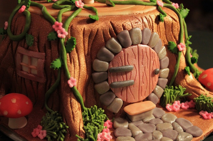 fondant/gum paste princess / tree/ fantasy cakes