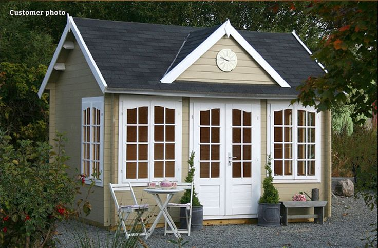 Wye - A beautiful light and airy clockhouse style summer house