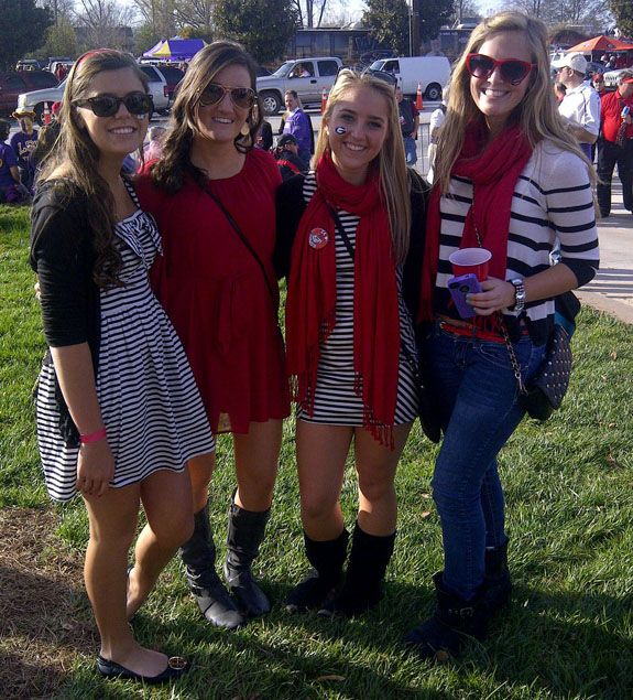 UGA game day outfits