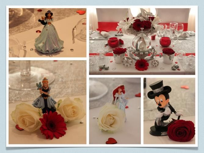 Personnages Disney pour décoration de mariage