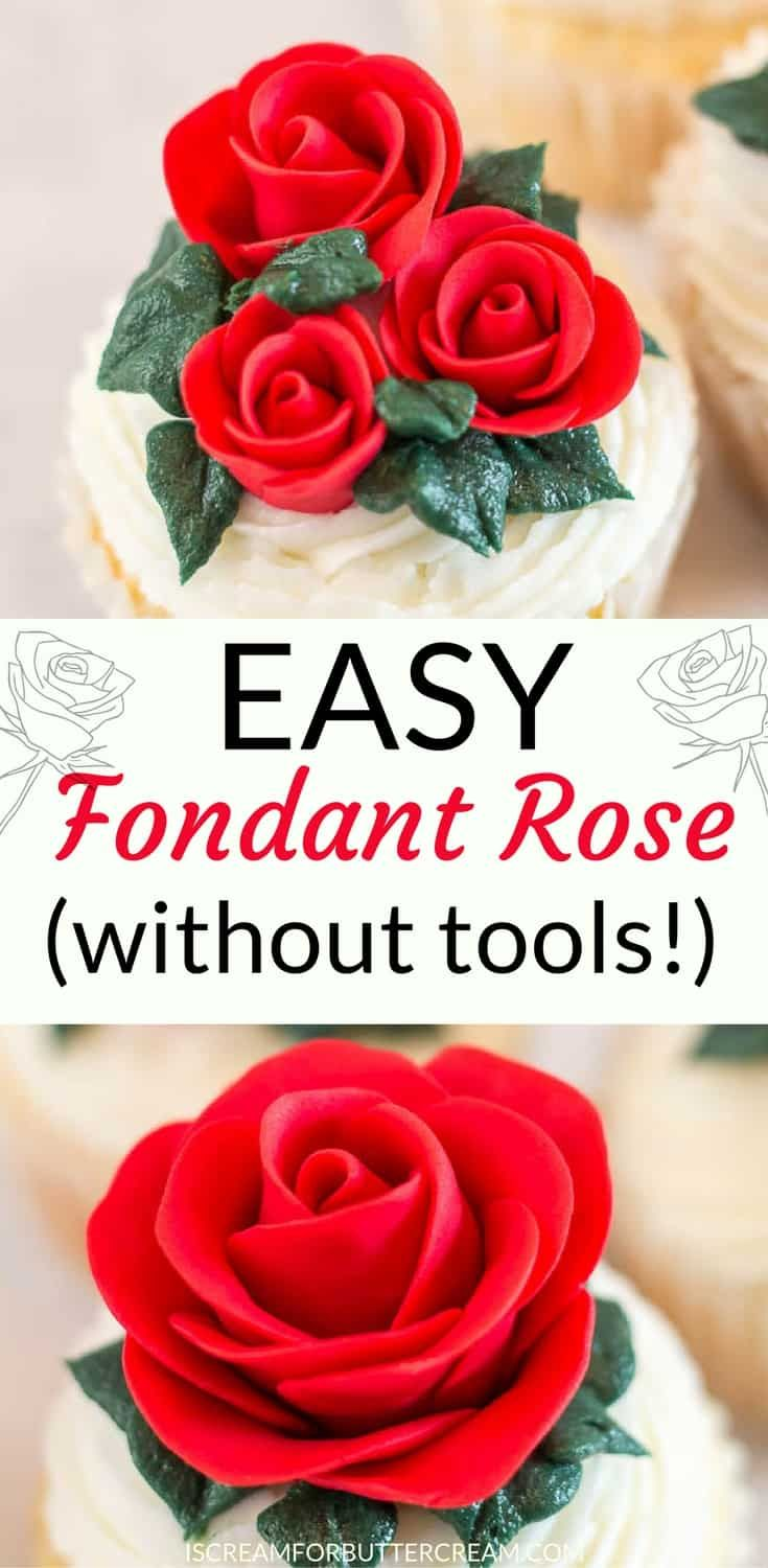 How To Attach Fondant Decorations To Fondant Cake