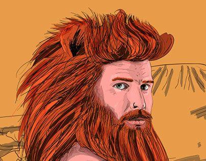 "Check out new work on my @Behance portfolio: ""Animal Beards - BeardKing"" http://on.be.net/1LQKGy8"