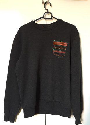 Kup mój przedmiot na #vintedpl http://www.vinted.pl/odziez-meska/bluzy/12561059-szara-bluza-house