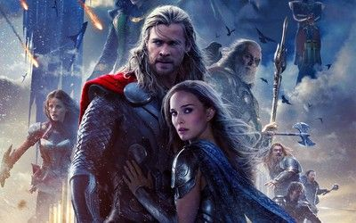 Thor and Jane Foster - Thor: The Dark World wallpaper