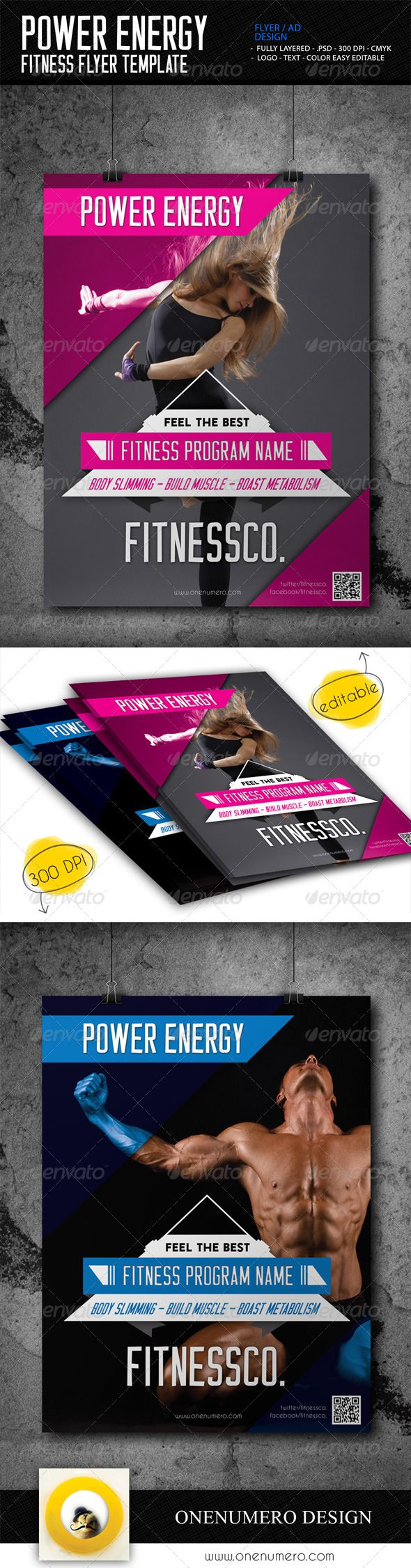 Power Energy Fitness Flyer Template - Sports Events Maybe buy it http://graphicriver.net/item/power-energy-fitness-flyer-template/7662781?WT.ac=portfolio&WT.seg_1=portfolio&WT.z_author=onenumero