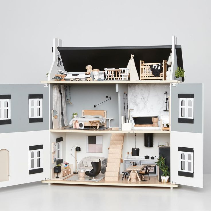 Best 25 Modern Dollhouse Ideas On Pinterest Doll House