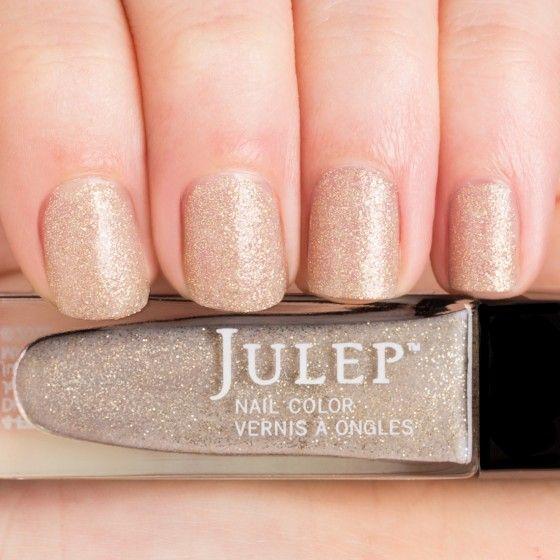 Thumbnail Swatch of Soft Gold Microglitter Nail Polish
