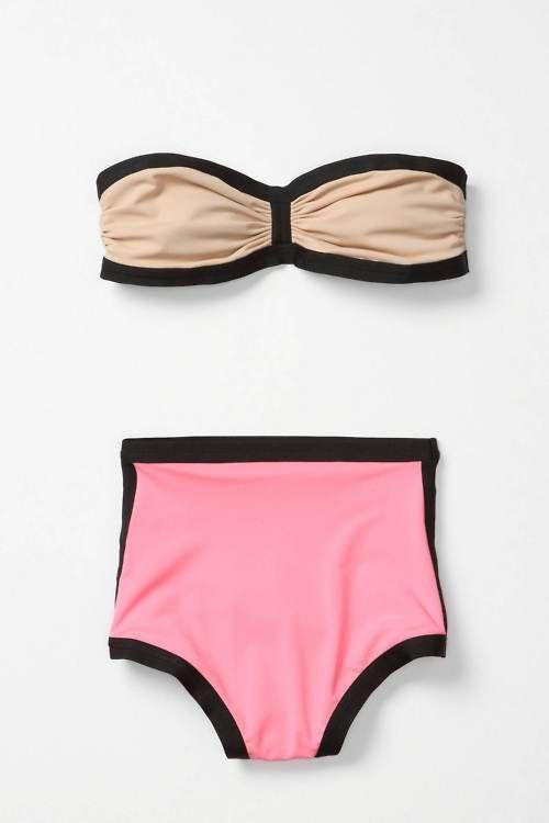 high-waisted bikini <3