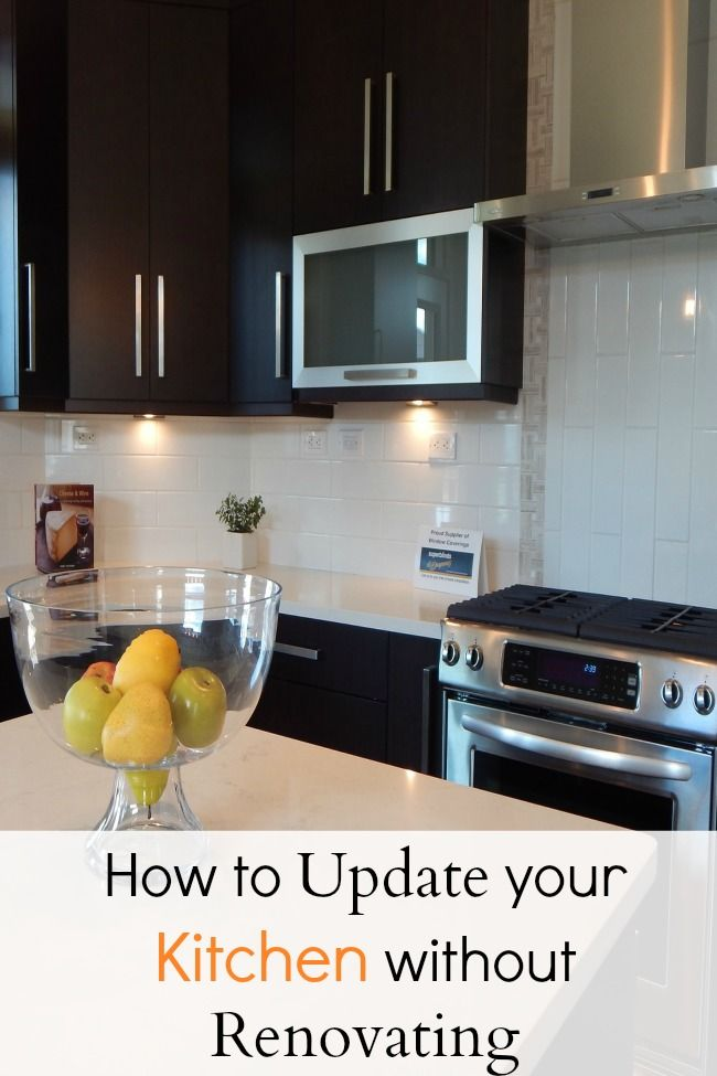Update your kitchen with these awesome tips so you can stay under budget. No renovation required!