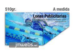 Lonas publicitarias impresas con impresión a doble cara (ambos lados) en Barcelona. Calidad fotográfica. Precios en www.jmwebs.com - Teléfono: 935160047