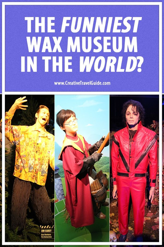 So we have all heard of Madame Tussauds and the lesser known Louis Tussauds but none of them compete with Niagara Falls' Movieland Wax Museum of the Stars!