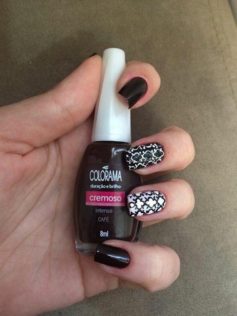 Uma ótima opção de Nail Art. ❤️