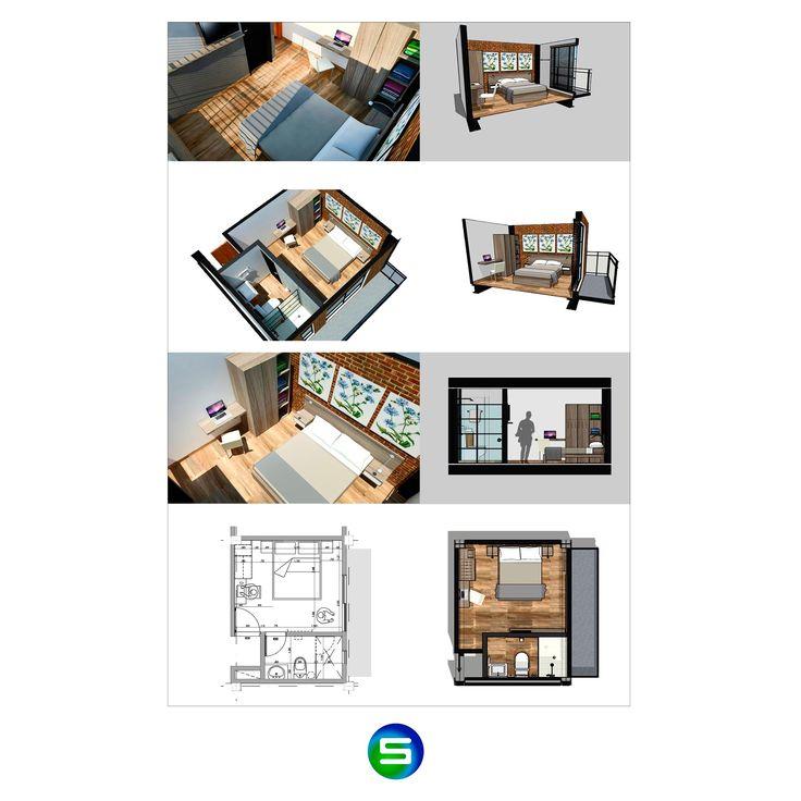 Diseño industrial style / Masaya Medellin Hostel
