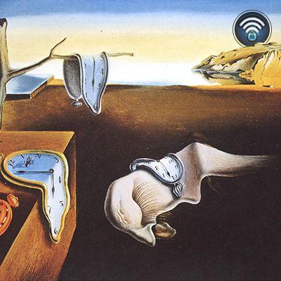 La persistencia de la memoria, conocido también como Los relojes blandos es un famoso cuadro del pintor español Salvador Dalí pintado en 1931. #VizorArt   www.vizormobil.com