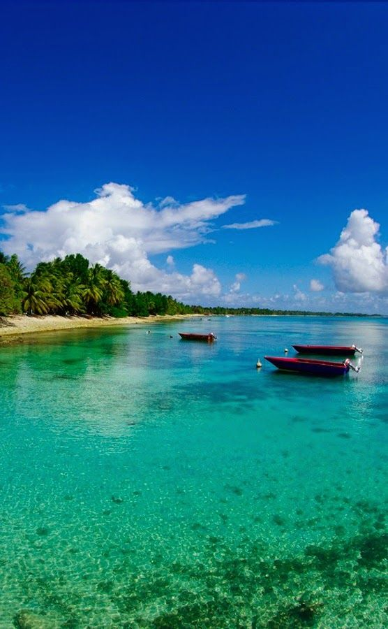 The most relaxing and peaceful place of Tuvalu island.