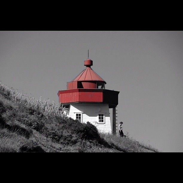 Another edit of Skongenes Lighthouse. #lighthouse #skongenes #sognogfjordane #visitnorway #i_love_norway