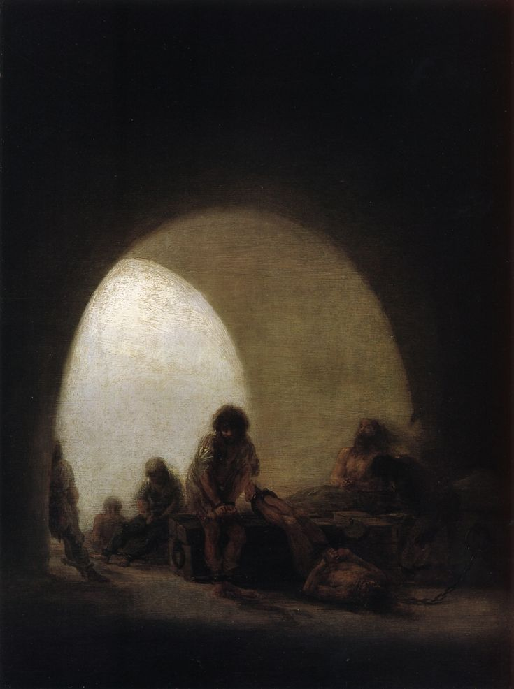 Plague Hospital - Francisco Goya - WikiArt.org