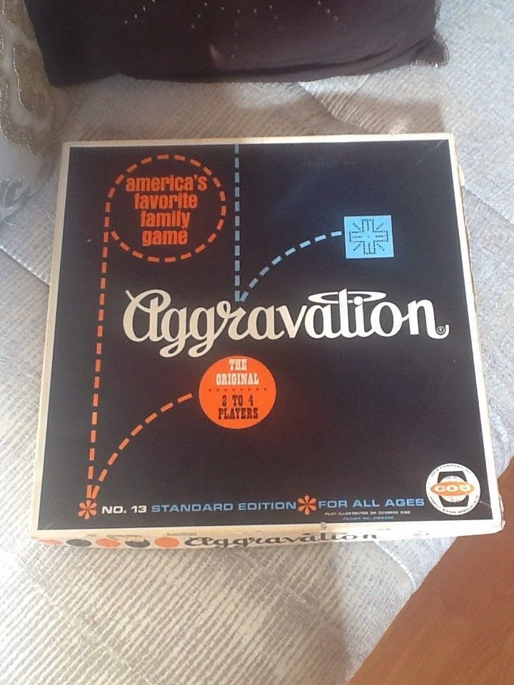 Aggravation Board Game in Box  I Want the four player version. In the book.  I already have six player game.   Many on eBay