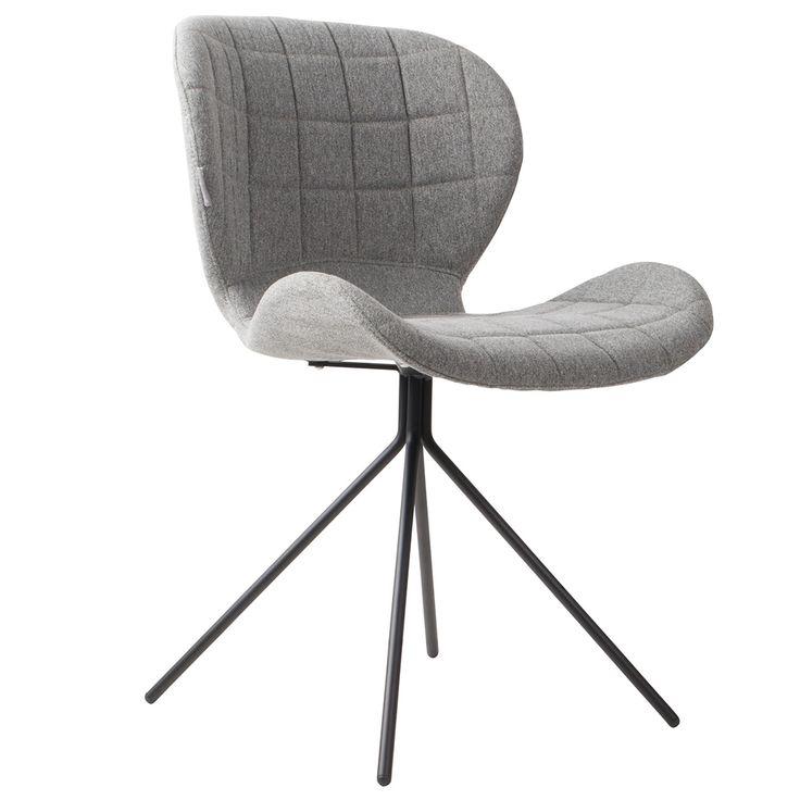 Krzesło OMG, kolor szary - North&South Home
