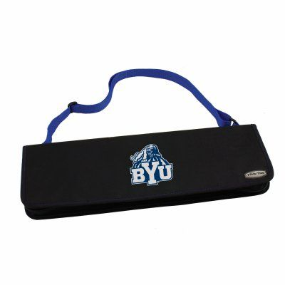 Metro BBQ Tote With Printed Collegiate Football Team Logo Blue - 747-03-137-714-0, Durable