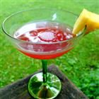 """""""Strip and Go Naked""""- frozen pink lemonade, beer, and vodka.  So cheap and yummy..."""