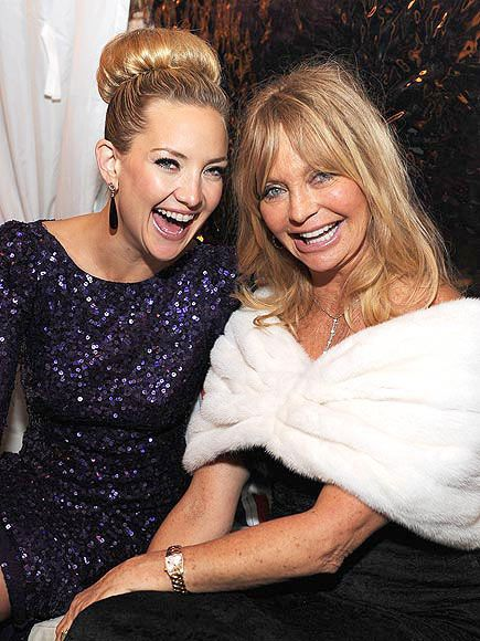 photo | Goldie Hawn, Kate Hudson-if my mom and I were famous.....