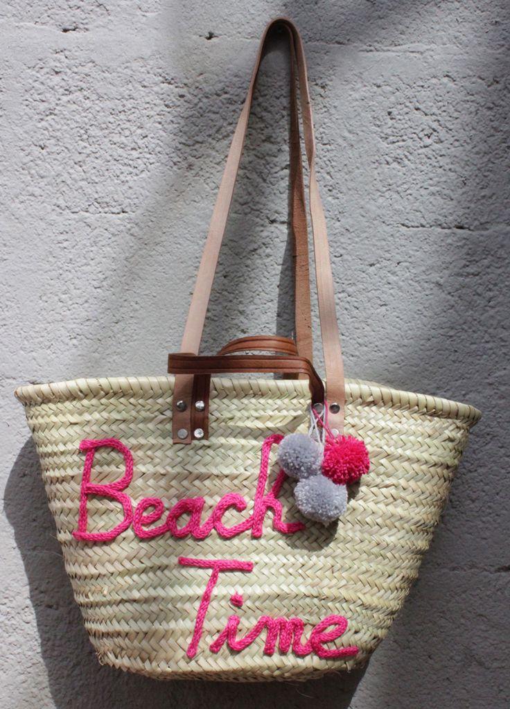 L'atelier Des Petites Bauloises: Panier Beach Time