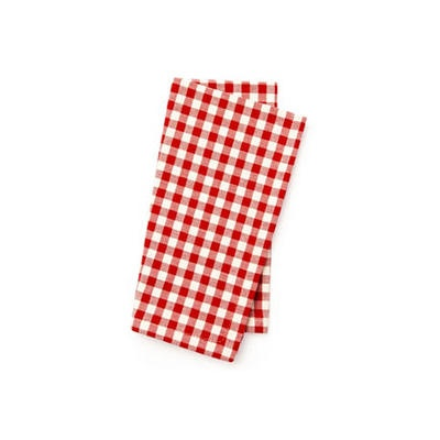 S/4 Gingham Napkins, Red by One Kings Lane $55 #Olioboard #Product #Sales