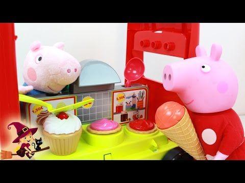 Juguetes de Peppa Pig y George: La Heladería