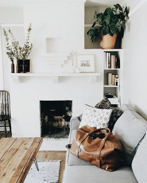 The white + Wood + Light grey combo